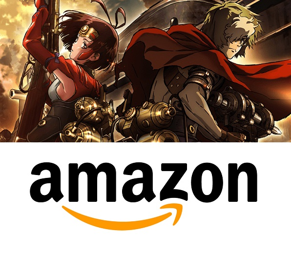 Iron-Fortress x anime on amazon