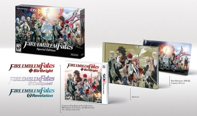 Limited Edition of Fire Emblem Fates