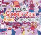 Summer anime 2016 characters eating food