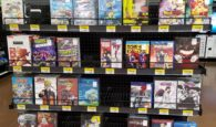 Walmart Anime Display