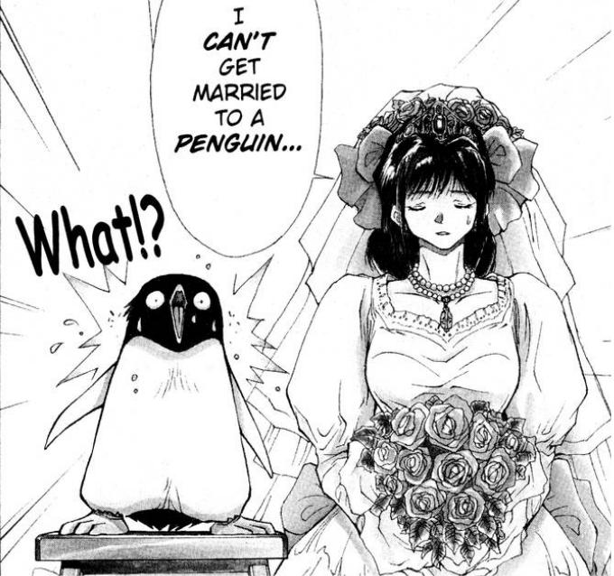 Penguin life is cruel Tuxedo Gin