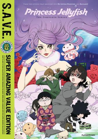 Princess Jellyfish DVD