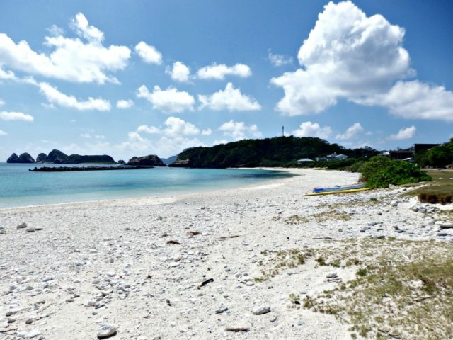 Because Okinawa is one of the best vacation spot for Japanese, rivaled only by ... Hawaii