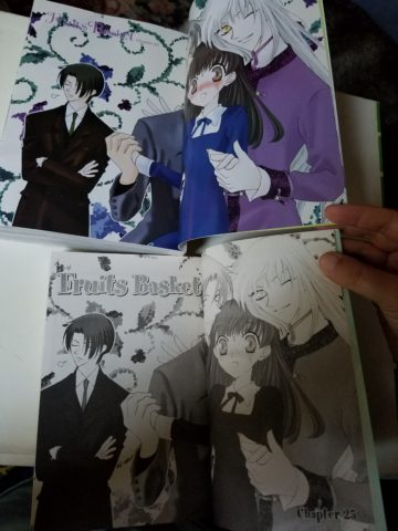All The Color Pages Are At Beginning So Only First Splash Page Is In
