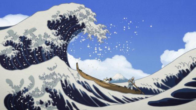 Miss Hokusai Wave