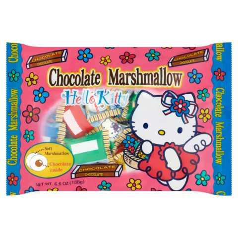 Hello Kitty Chocolate Marshmallows