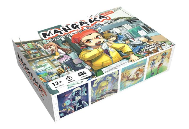 Mangaka: The Fast & Furious Game of Drawing