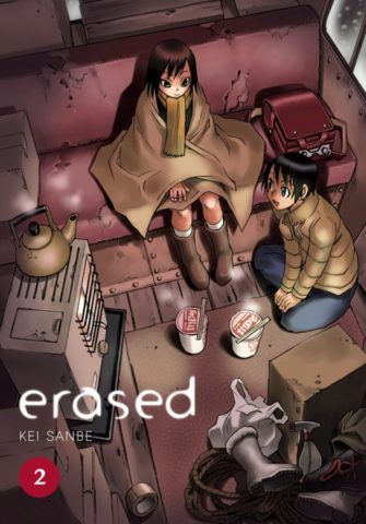 Erased Volume 2 Cover