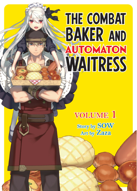BookWalker Global's The Combat Baker and Automaton Waitress