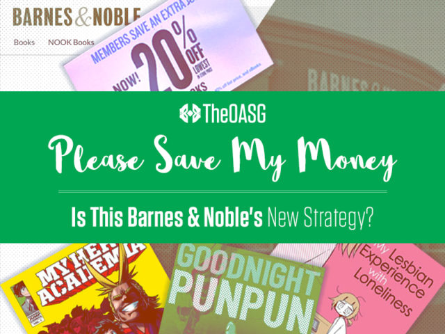 Is This Barnes & Noble's New Strategy?