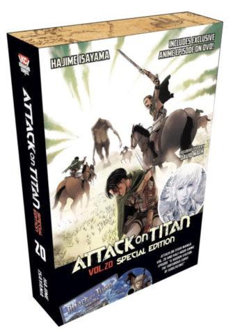 Attack on Titan 20 Special Edition