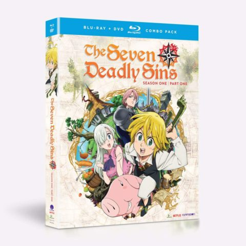 The Seven Deadly Sins Blu-ray