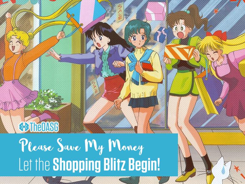 Let the Shopping Blitz Begin!