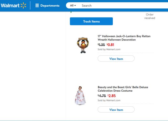 Walmart shipping discounts