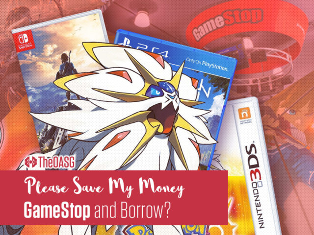 GameStop and Borrow?