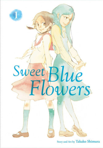 Sweet Blue Flowers volume 1 cover