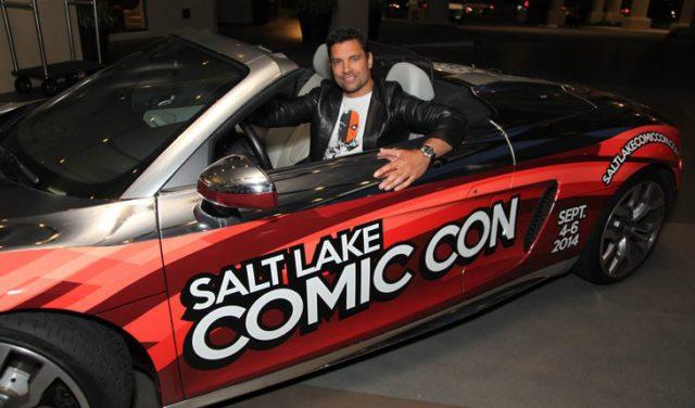 Salt Lake Comic Con car