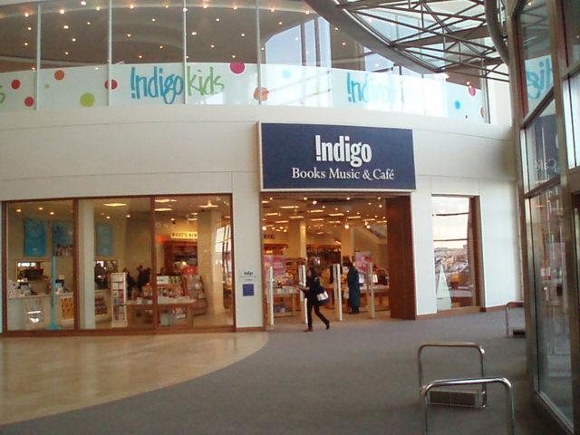Indigo Store in Yorktown, Canada